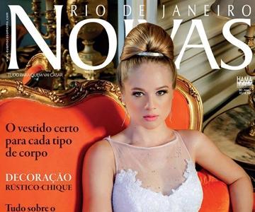 Revista Noivas Rio de Janeiro – Capa e editorial